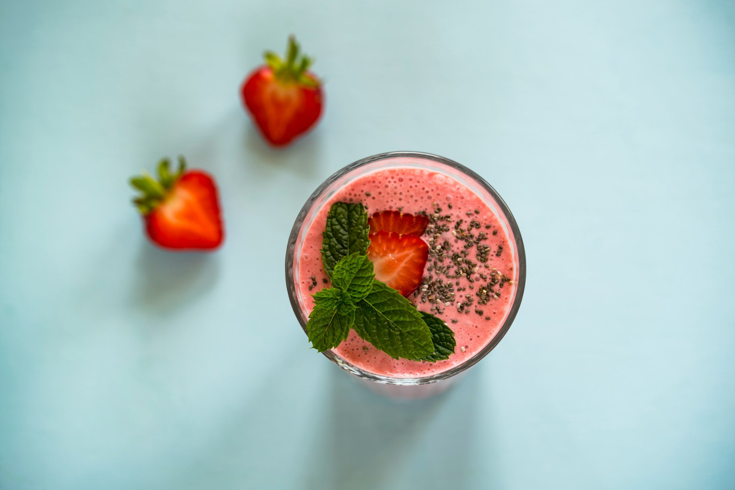 the goodness of strawberry leaves